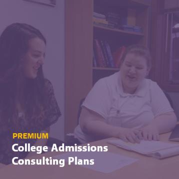 Premium College Admissions Consulting Plans