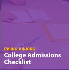 200518 Rising Juniors Checklist